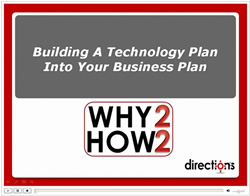 Build A Technology Plan Into Your Business Plan