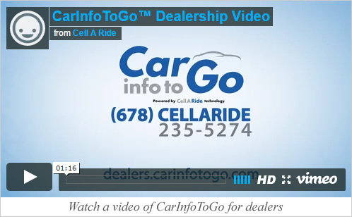 CellARide for dealers video