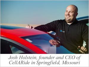 Josh Holstein, CellARide