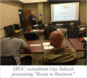 "NJ SBDC ""Boots to Business"""