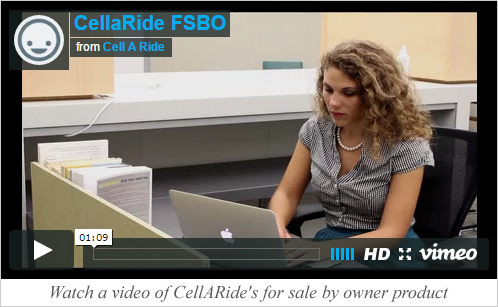CellARide for owners video