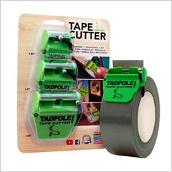 Tadpole tape cutter