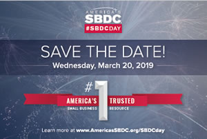 SBDCDay 2019 - Save the Date