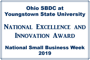 Excellence Award - Ohio SBDC at YSU
