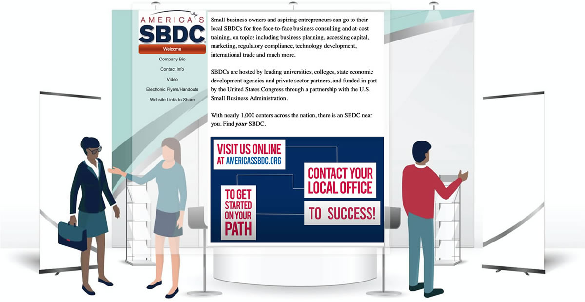 Virtual Booth Sample