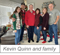 Kevin Quinn and family